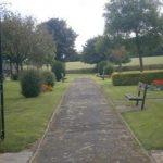 Easington Cemetery path