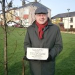 Tree planted by Grahame Morris