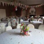 Seaton Holme wedding venue tables