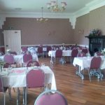 Seaton Holme wedding venue dining room with tables
